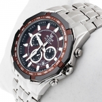zegarek Edifice EF-540D-5AVEF srebrny Edifice