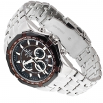 Edifice EF-540D-5AVEF Edifice sportowy zegarek srebrny