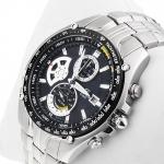 zegarek Edifice EF-543D-2AVEF srebrny Edifice