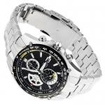 Edifice EF-543D-2AVEF Edifice sportowy zegarek srebrny