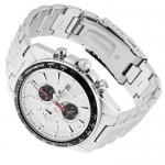 Edifice EF-547D-7A1VEF EDIFICE Momentum sportowy zegarek srebrny