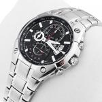 zegarek Edifice EF-555D-1AVEF srebrny Edifice