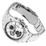 Edifice EF-555D-7AVEF EDIFICE Momentum sportowy zegarek srebrny