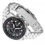 Edifice EF-558D-1AVEF Edifice sportowy zegarek srebrny