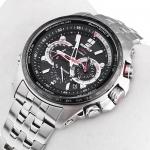 zegarek Edifice EQW-M710DB-1A1ER srebrny EDIFICE Premium