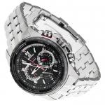 Edifice EQW-M710DB-1A1ER EDIFICE Premium klasyczny zegarek srebrny