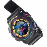 G-Shock GA-110DR-1AER G-Shock sportowy zegarek czarny