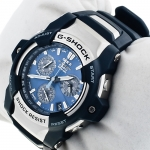 zegarek G-Shock GS-1100-2AER srebrny G-Shock