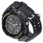 G-Shock GW-3500B-1AER G-Force G-Shock sportowy zegarek czarny