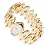 Pierre Ricaud P2192.1143 Bransoleta klasyczny zegarek złoty