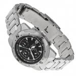 Pierre Ricaud P2216.5114 Bransoleta klasyczny zegarek srebrny