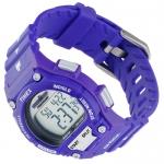 Timex T5K431 Ironman Triathlon Shock Resistant Ironman sportowy zegarek fioletowy