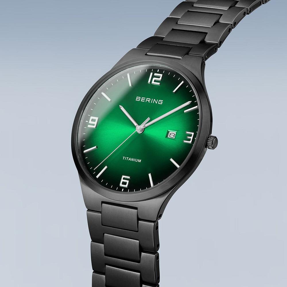 15240-728 męski zegarek Titanium bransoleta
