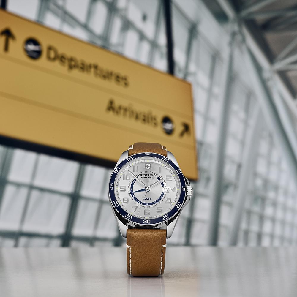241931 Fieldforce zegarek męski klasyczny szafirowe