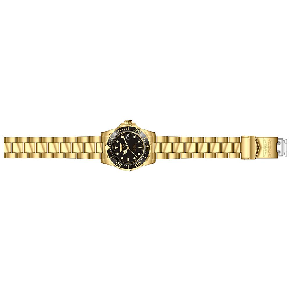 8929 zegarek srebrny klasyczny Pro Diver bransoleta
