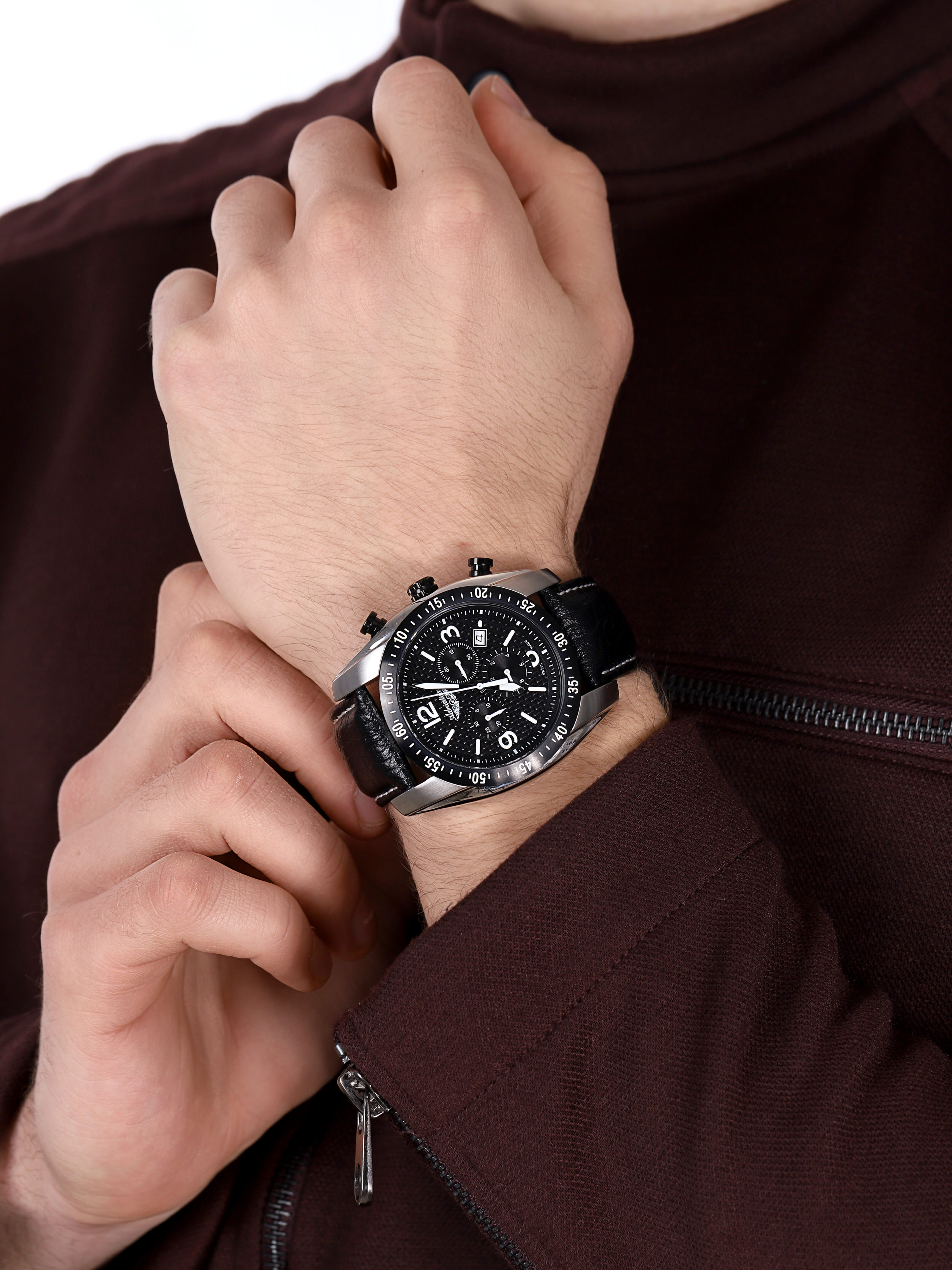 Adriatica A1181.Y254CH zegarek sportowy Pasek