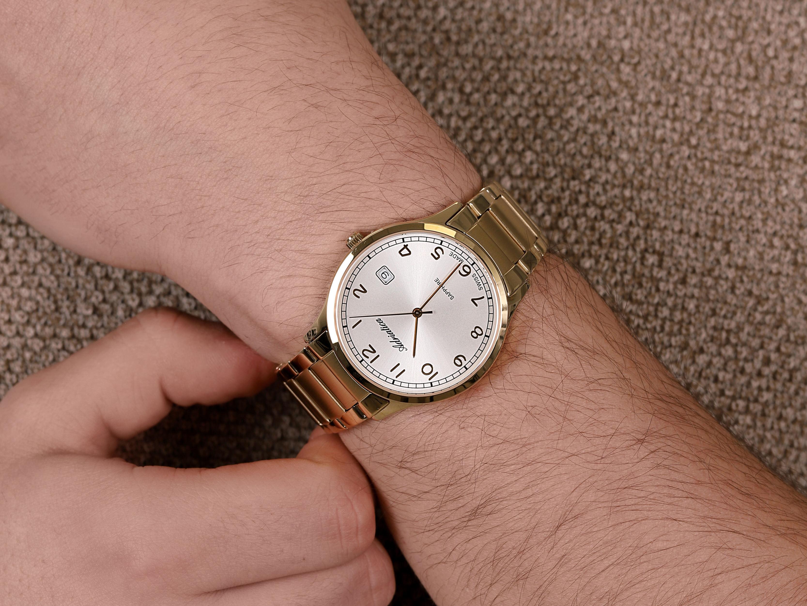 Adriatica A1292.1123Q zegarek męski Bransoleta