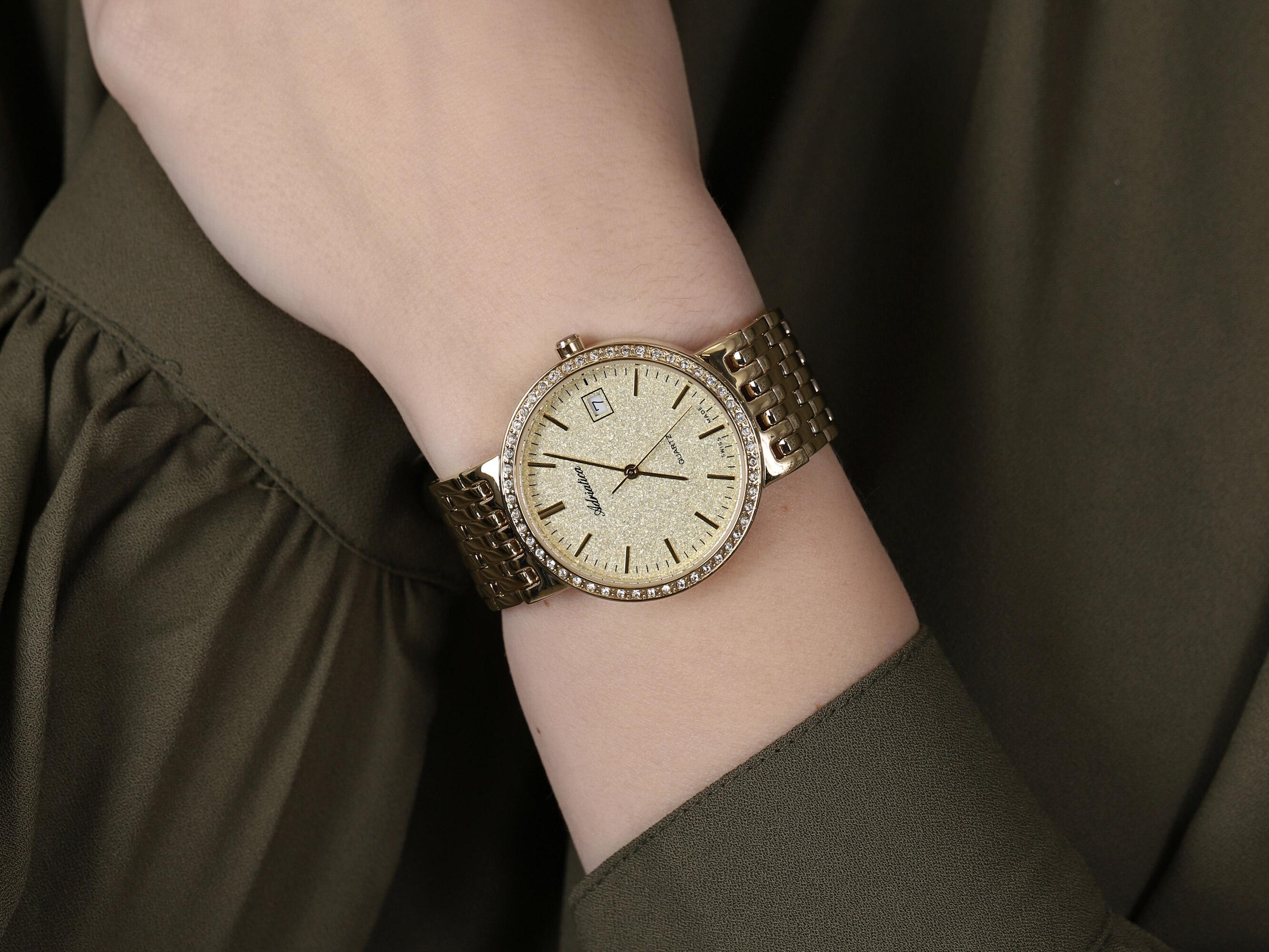 Adriatica A3445.1111QZ damski zegarek Bransoleta bransoleta