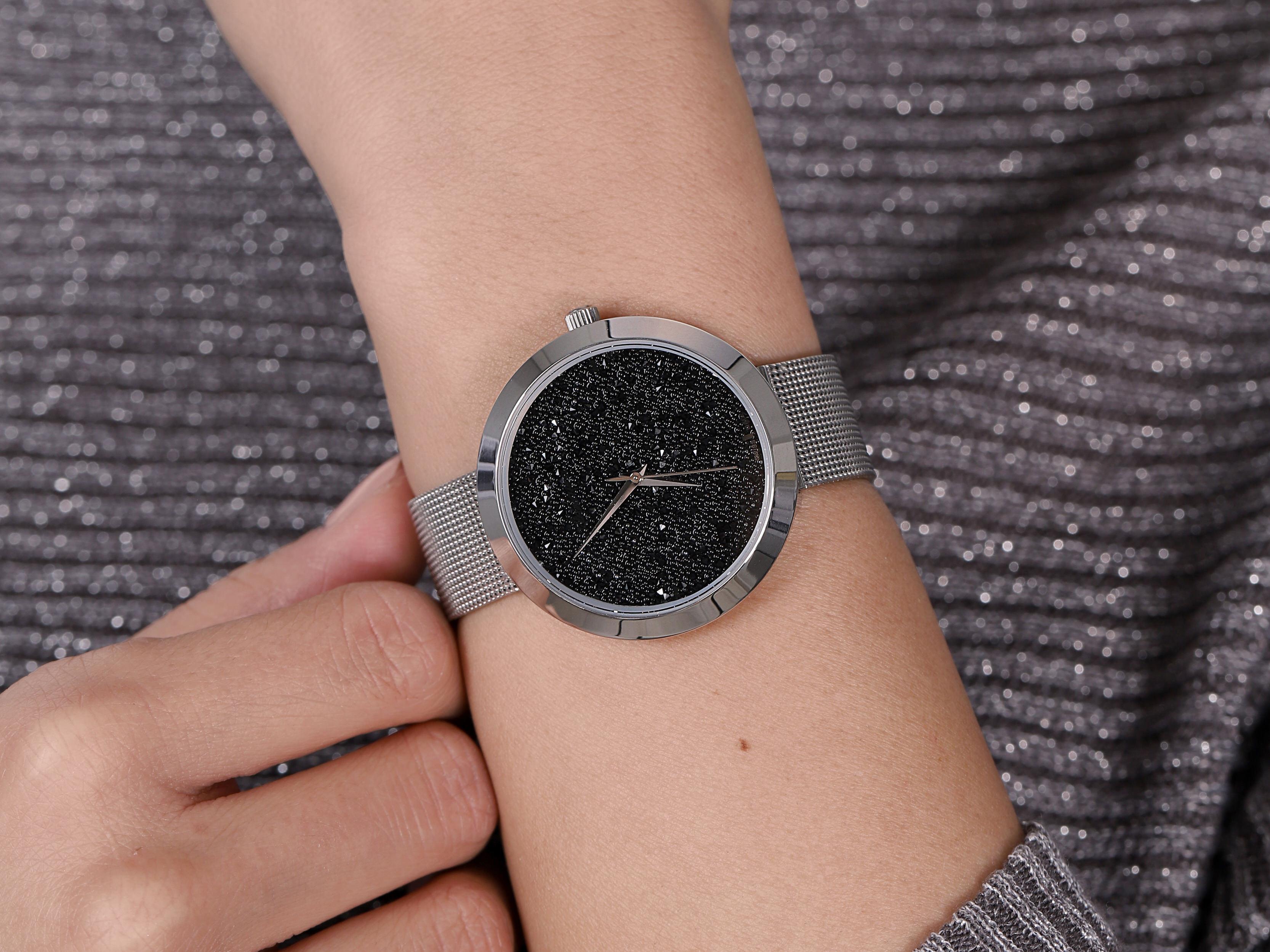 Adriatica A3646.5114QBL-SET Fashion zegarek klasyczny Bransoleta