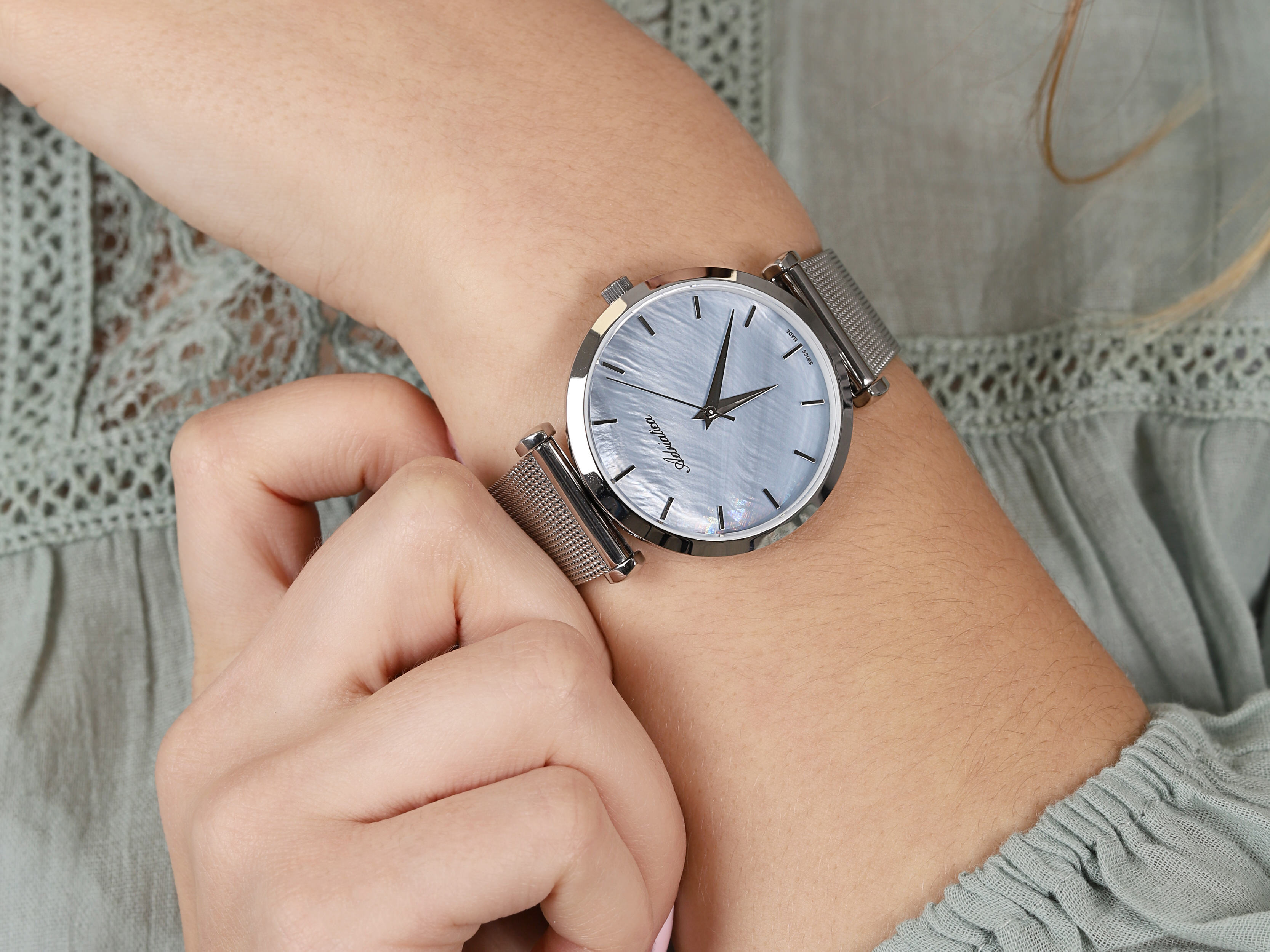 Adriatica A3713.511ZQ zegarek damski Bransoleta