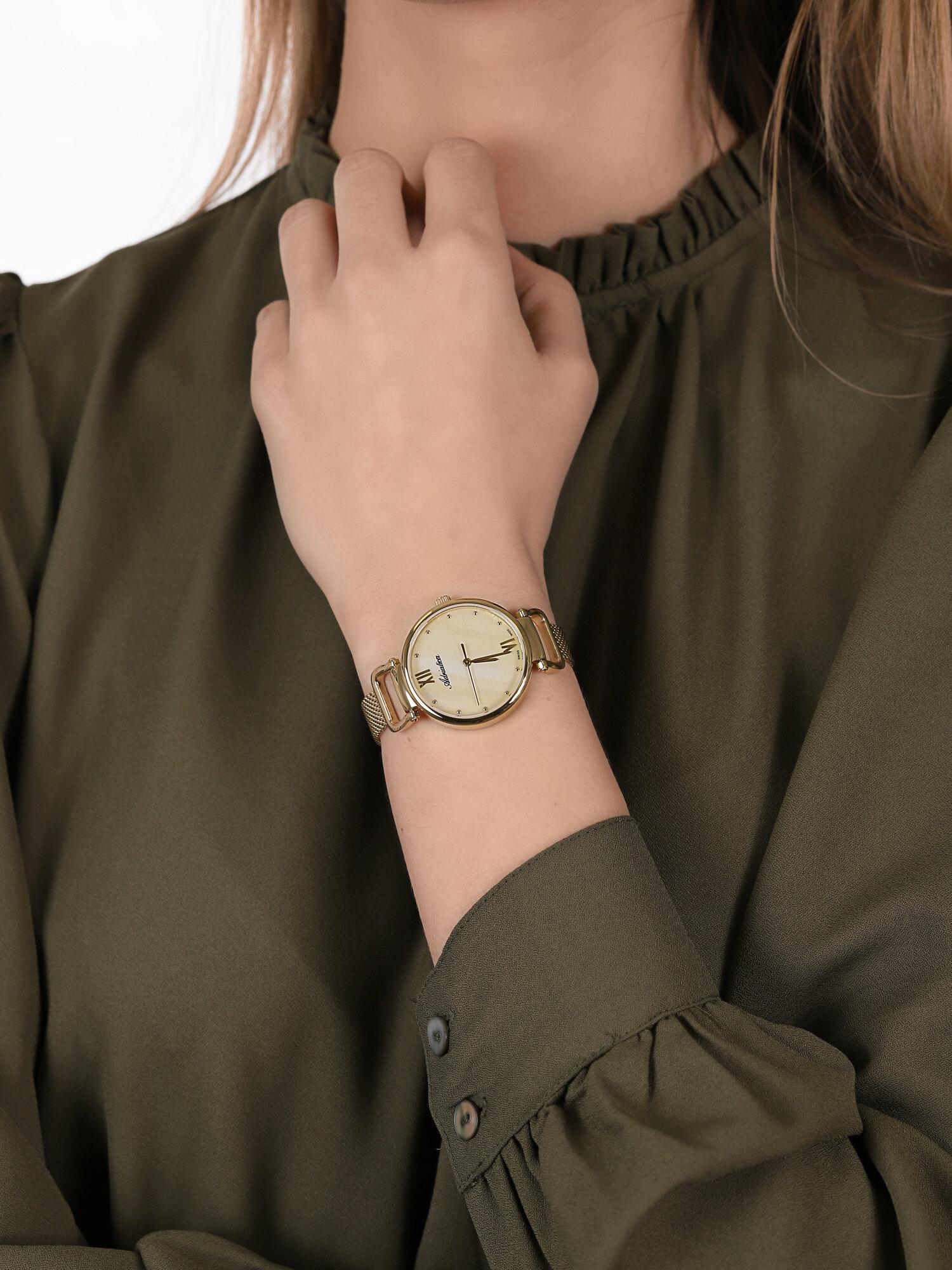Adriatica A3745.118SQ damski zegarek Bransoleta bransoleta
