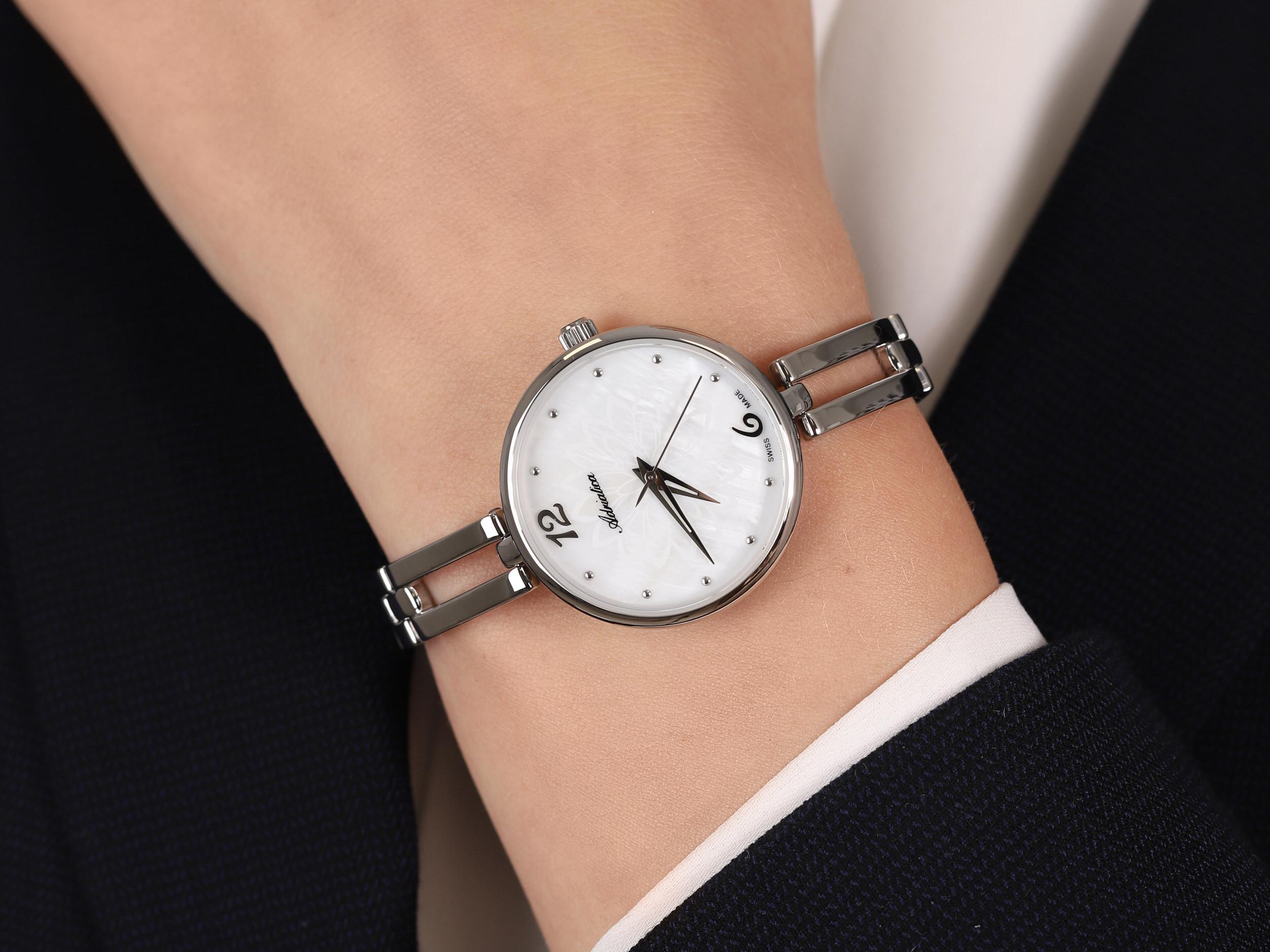 Adriatica A3762.517FQ Fashion zegarek elegancki Bransoleta