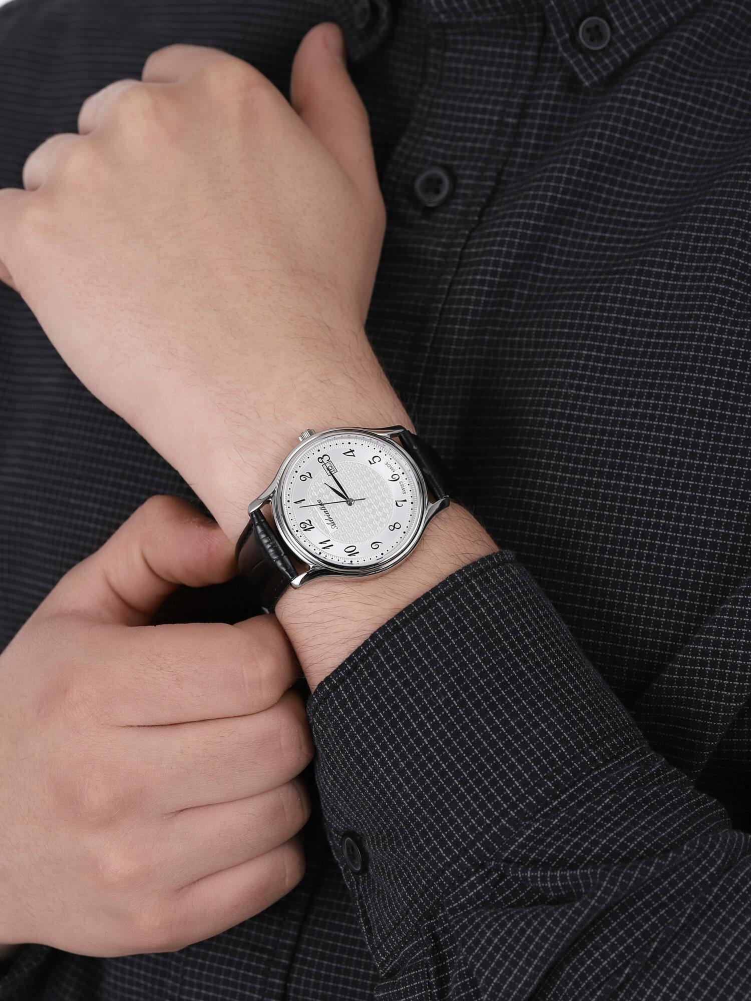 Adriatica A8000.5223Q męski zegarek Pasek pasek