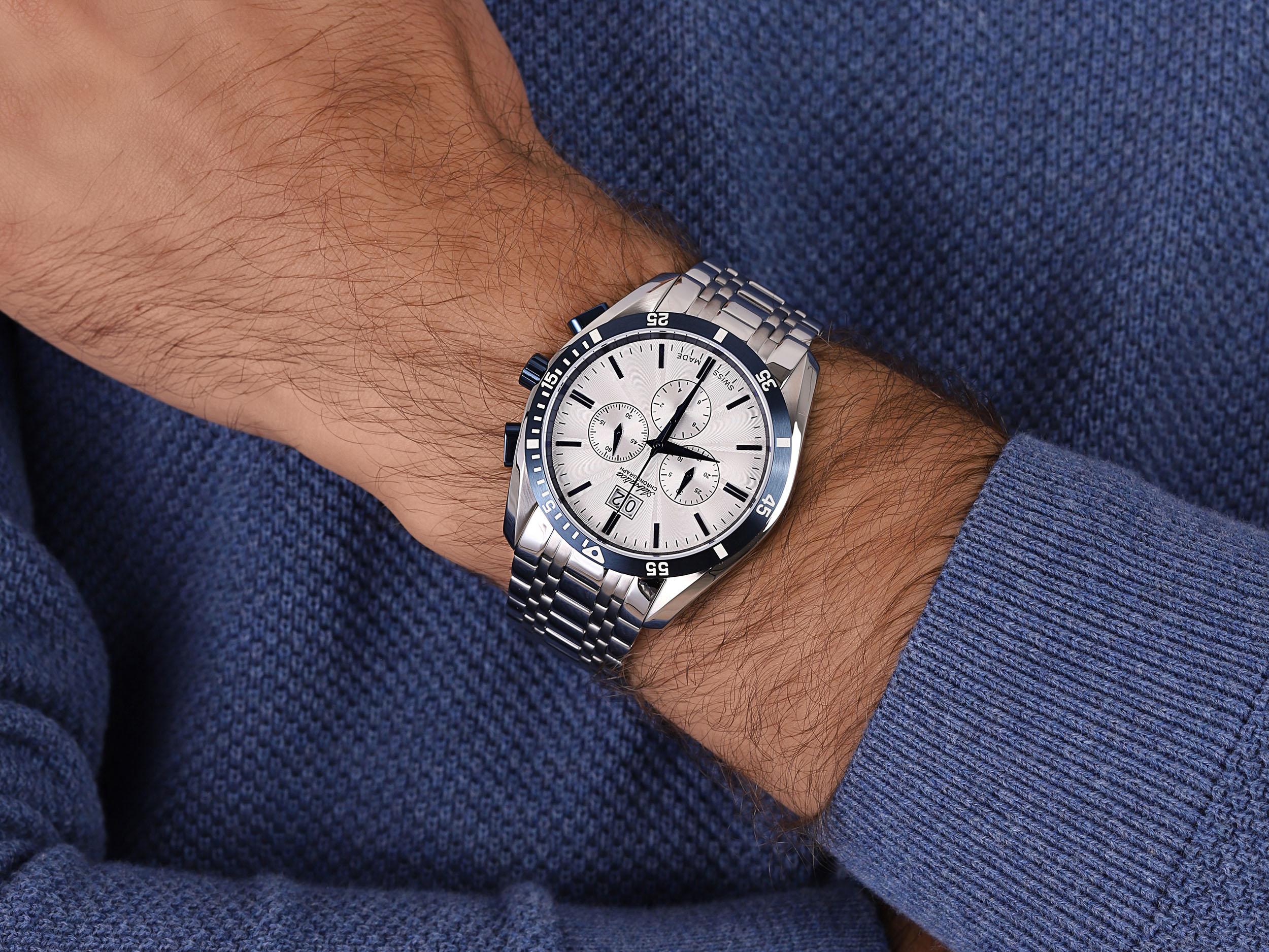 Adriatica A8202.T1B3CH zegarek klasyczny Bransoleta