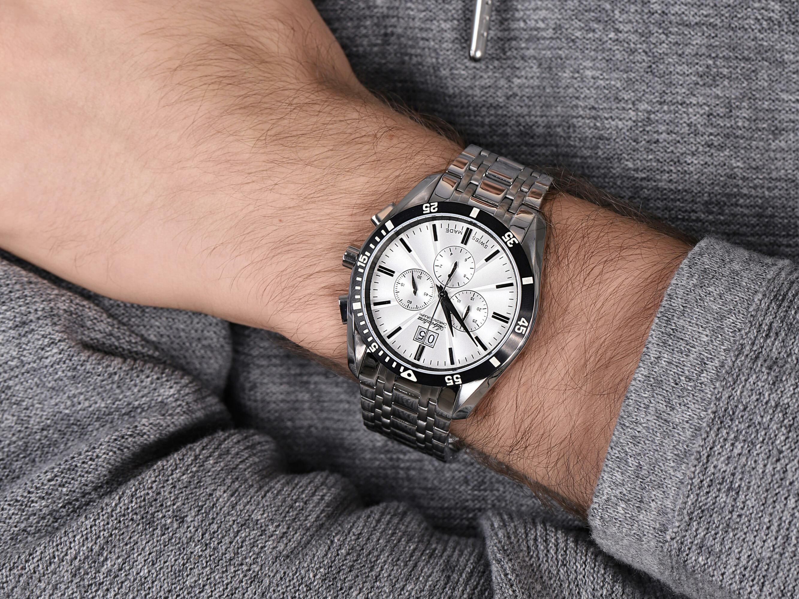 Adriatica A8202.Y113CH zegarek klasyczny Bransoleta
