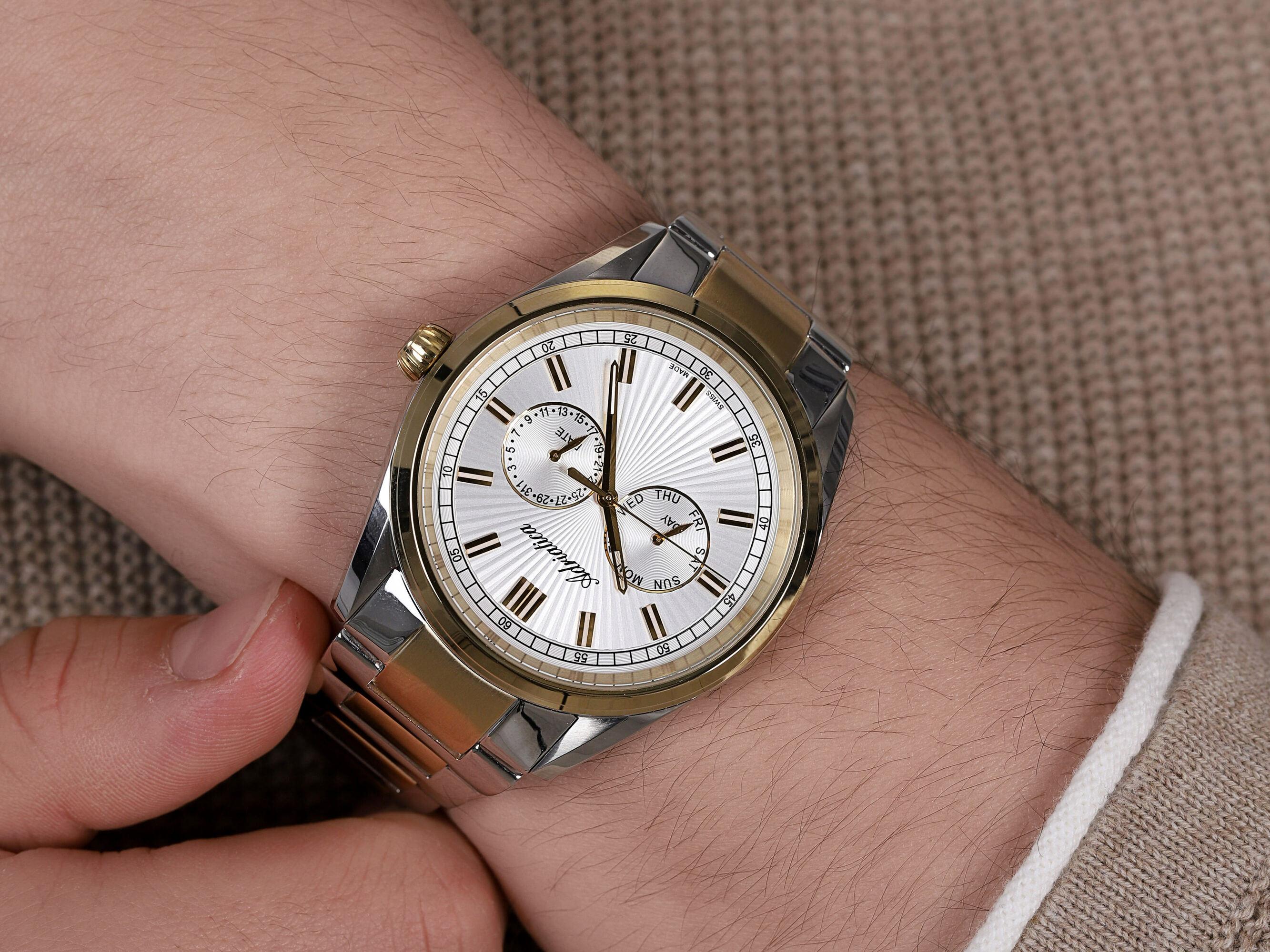 Adriatica A8211.2113QF męski zegarek Bransoleta bransoleta