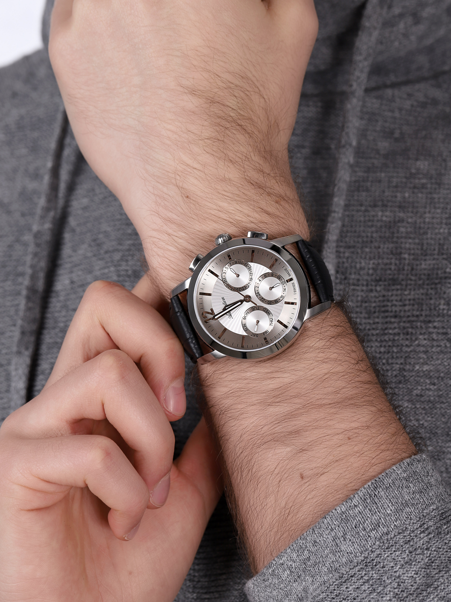 Adriatica A8273.5253QF zegarek klasyczny Pasek