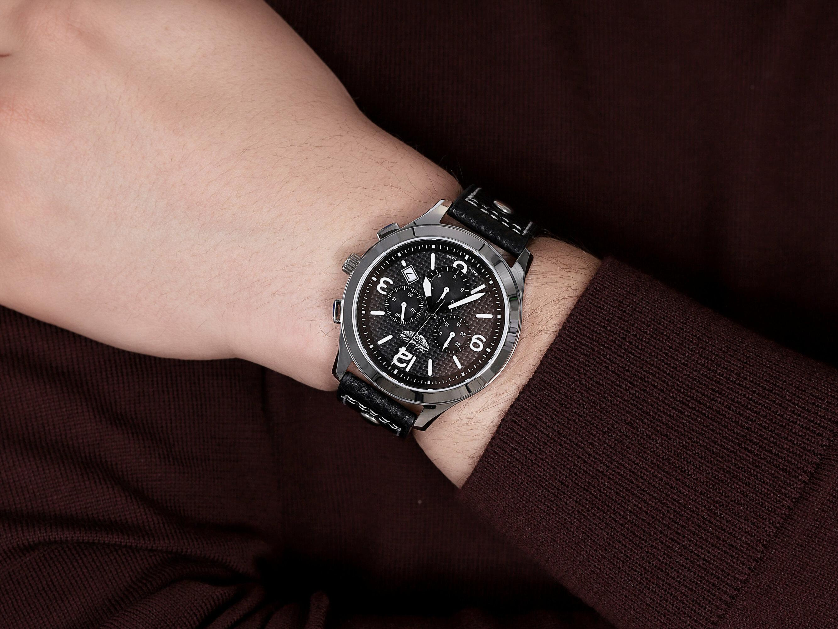 Adriatica A8313.5254CH zegarek klasyczny Pasek