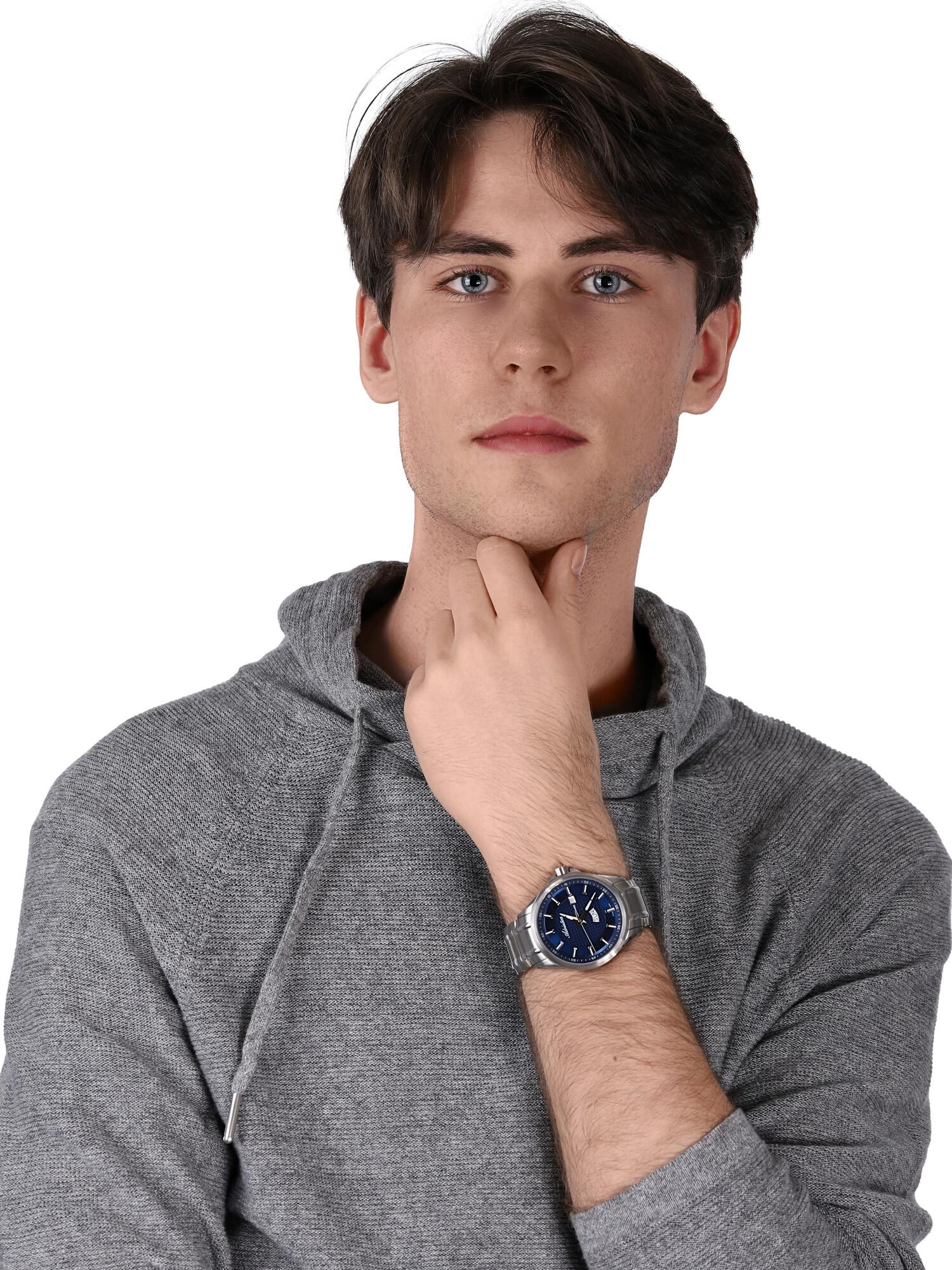 Adriatica A8321.5115Q męski zegarek Bransoleta bransoleta