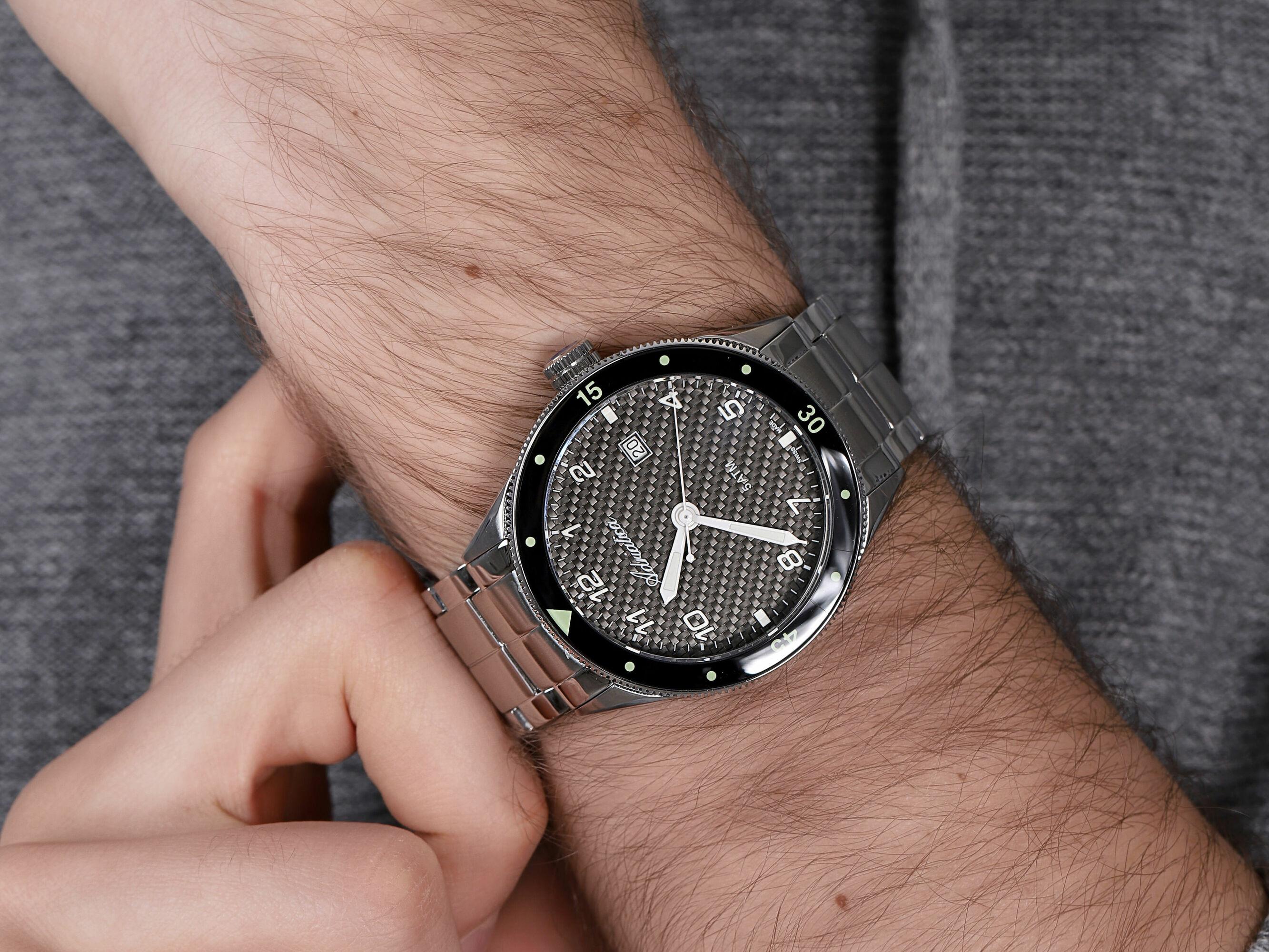 Adriatica A8322.5124Q męski zegarek Bransoleta bransoleta