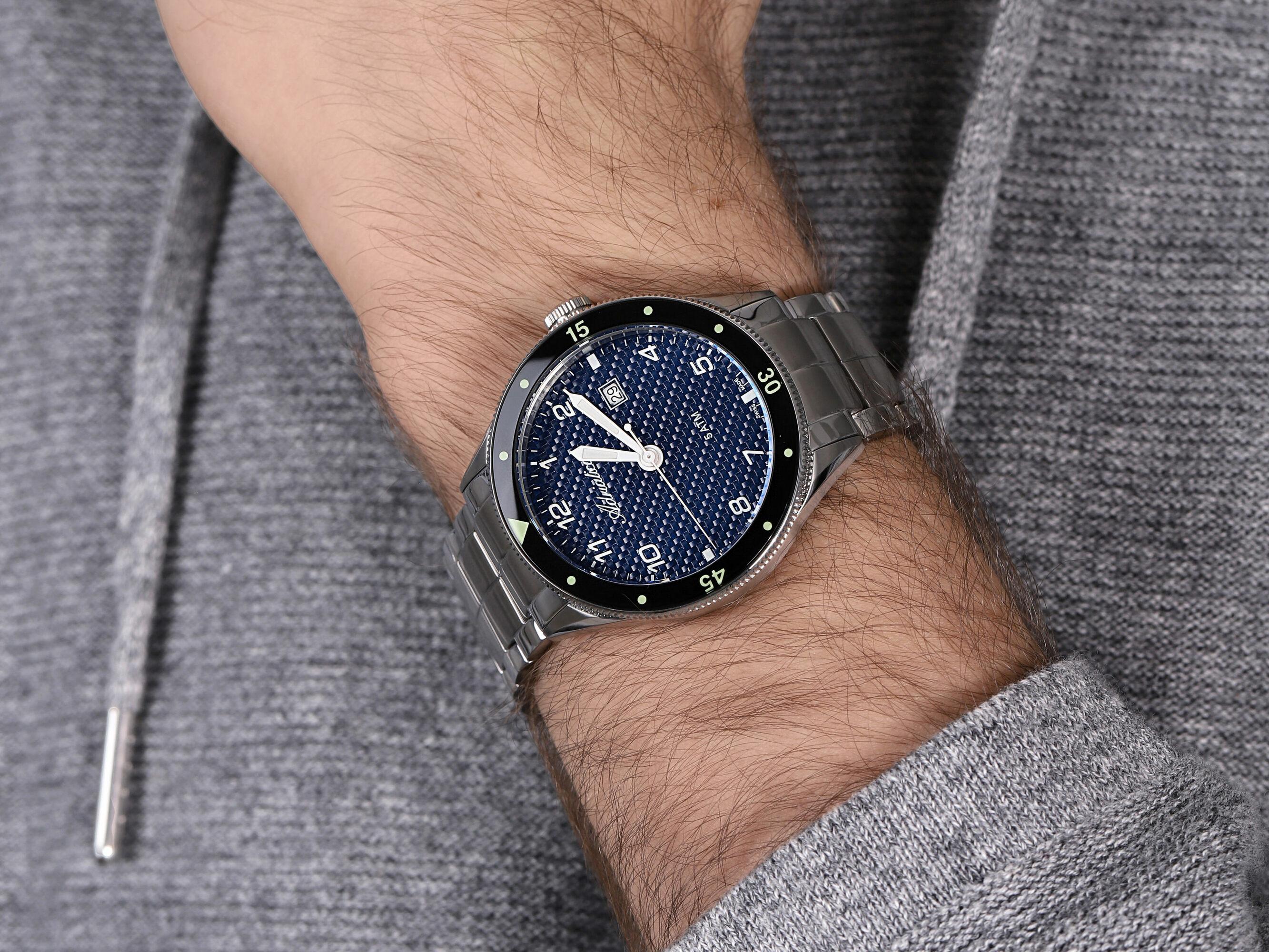 Adriatica A8322.5125Q męski zegarek Bransoleta bransoleta