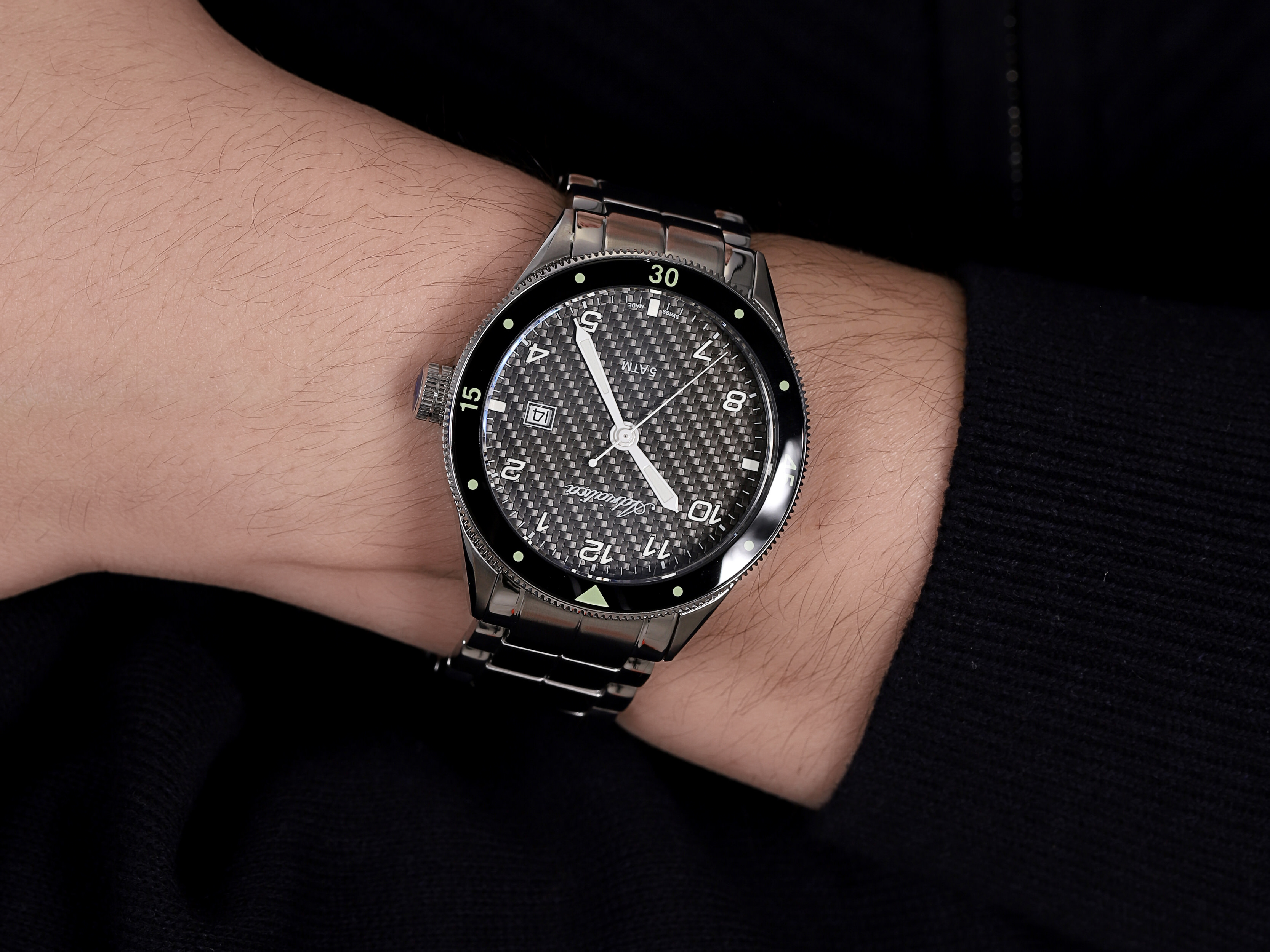 Adriatica A8322.5154Q męski zegarek Bransoleta bransoleta