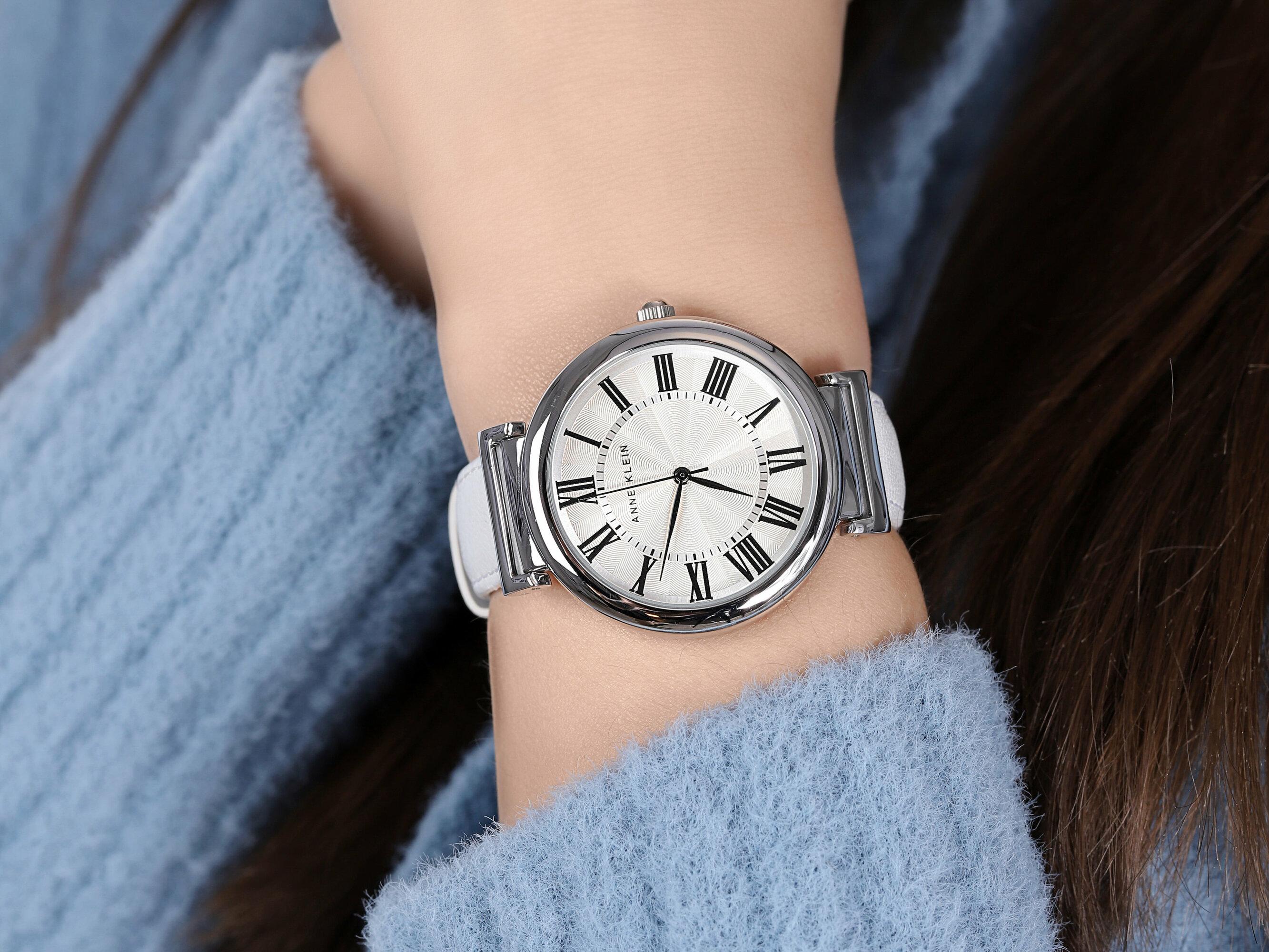 Anne Klein AK-2137SVWT zegarek damski Pasek
