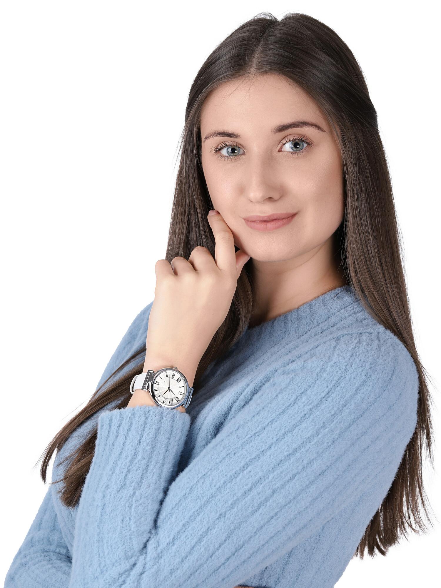 Anne Klein AK-2137SVWT zegarek klasyczny Pasek