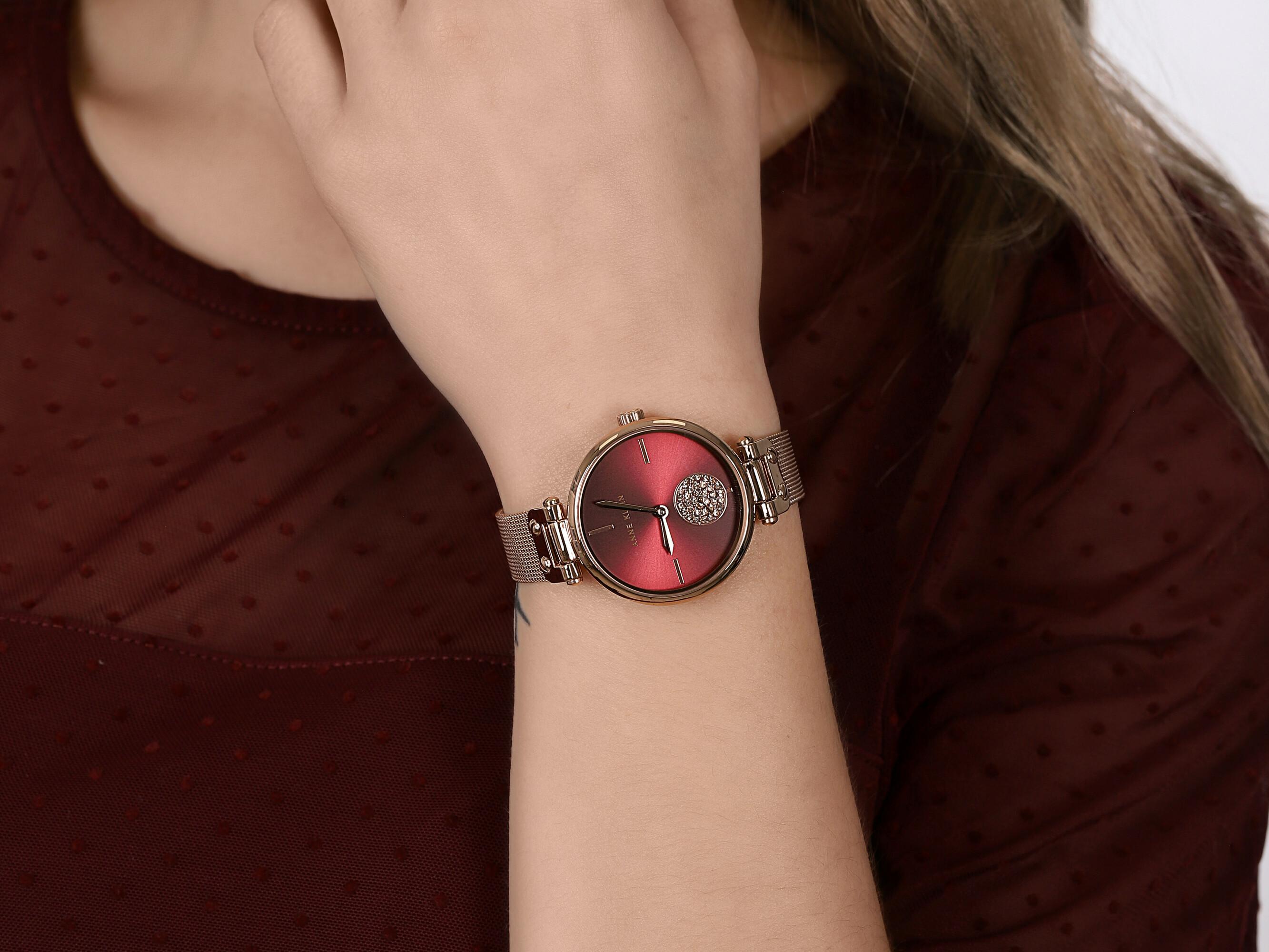 Anne Klein AK-3000BYRG zegarek fashion/modowy Bransoleta