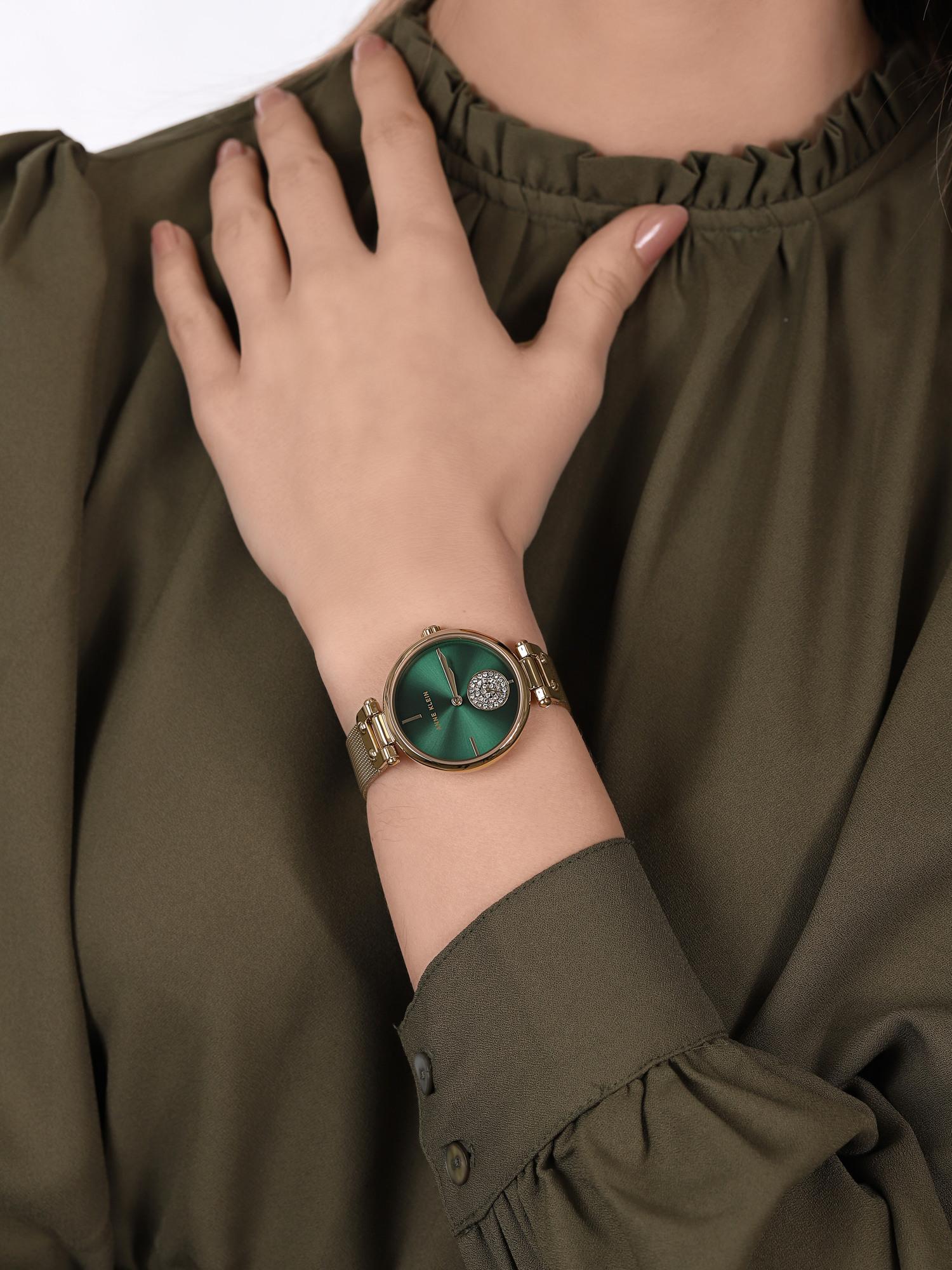 Anne Klein AK-3000GNGB damski zegarek Bransoleta bransoleta