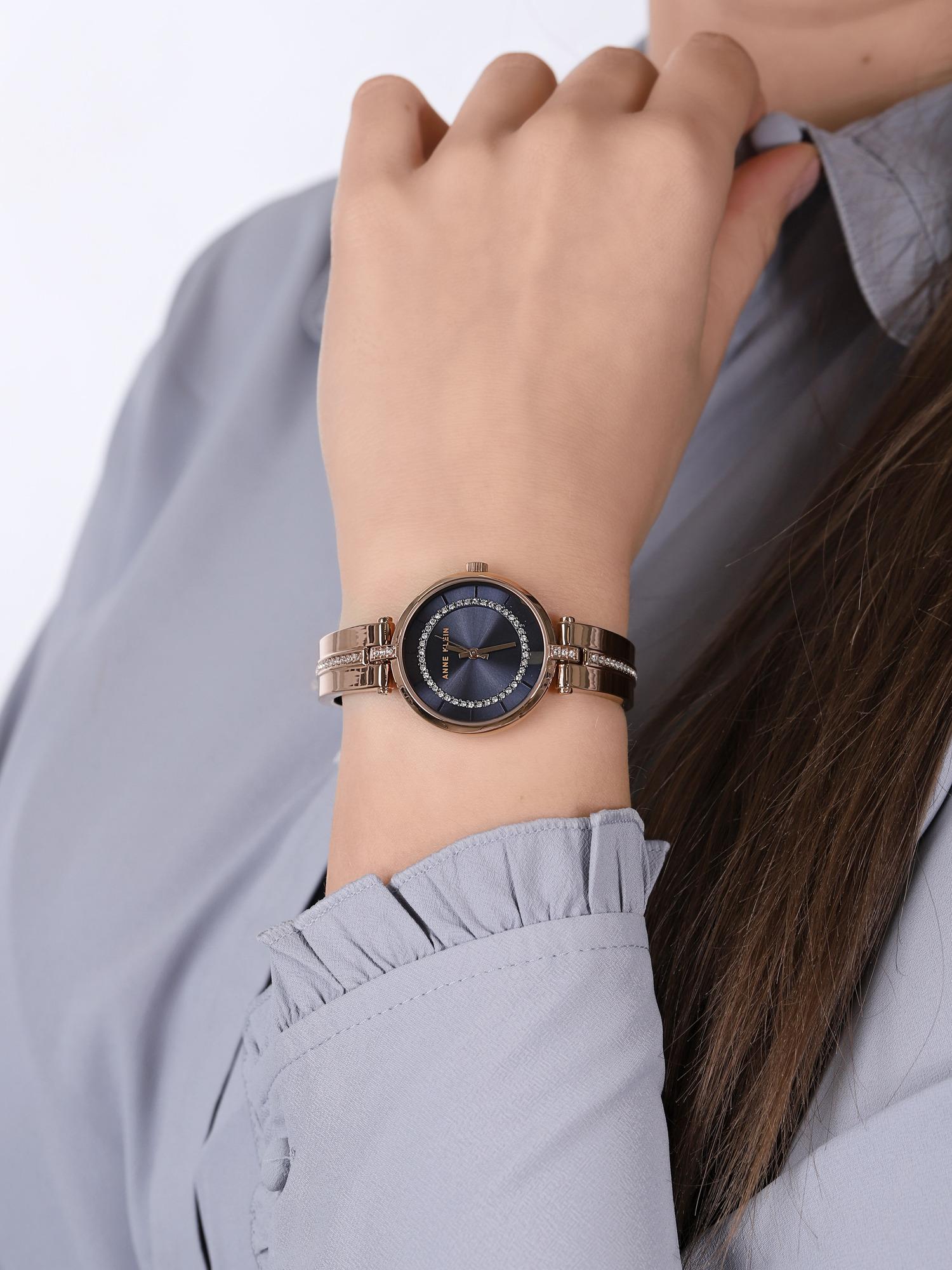 Anne Klein AK-3248NVRG zegarek damski Bransoleta