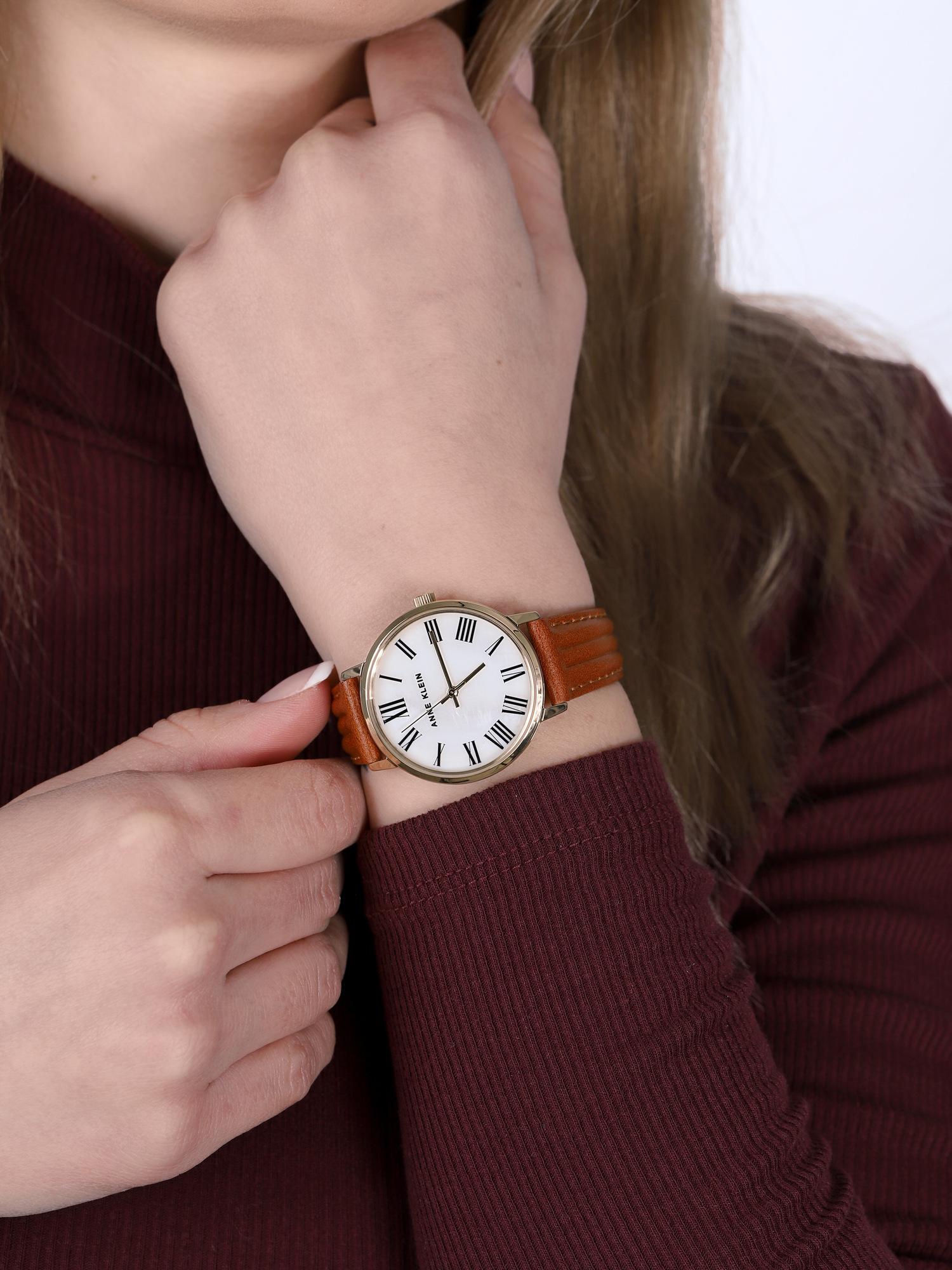 Anne Klein AK-3678MPHY damski zegarek Pasek pasek