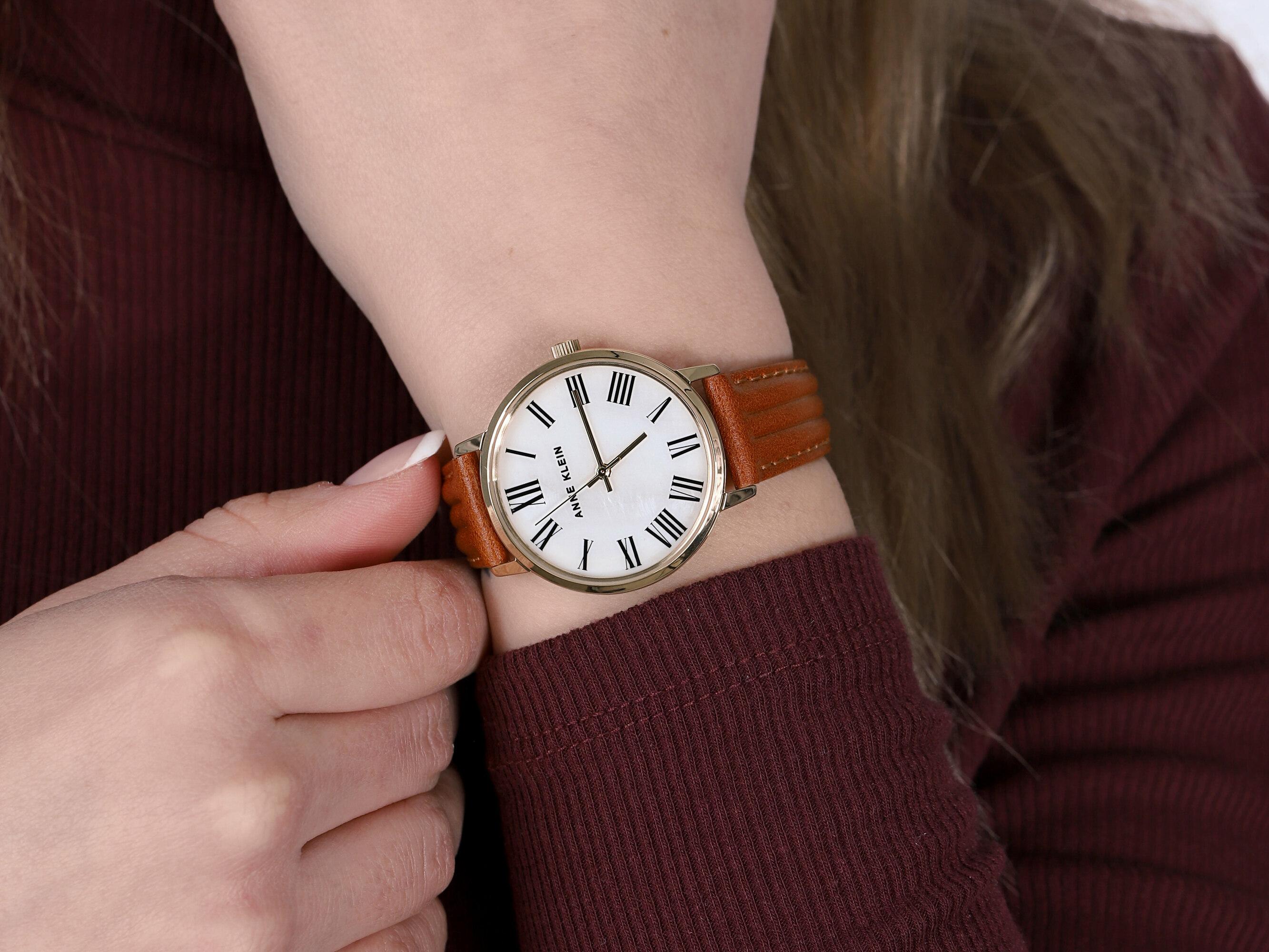 Anne Klein AK-3678MPHY zegarek damski Pasek