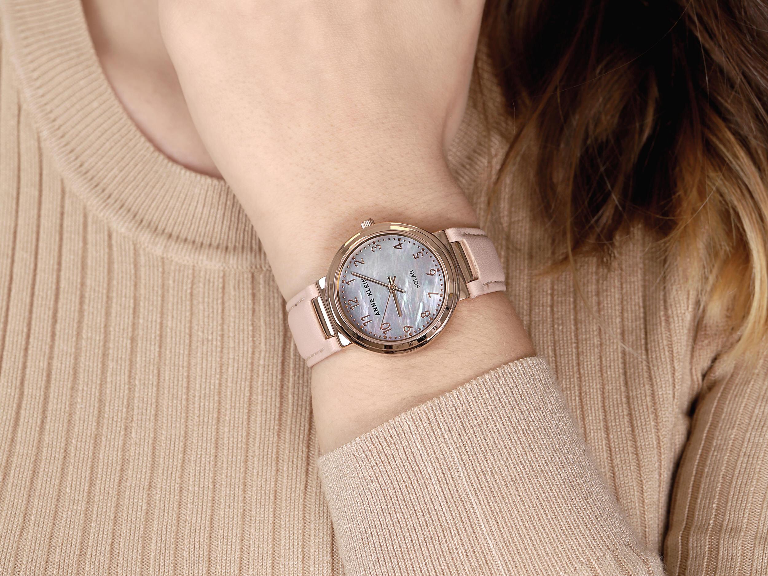 Anne Klein AK-3712RGBH zegarek klasyczny Pasek