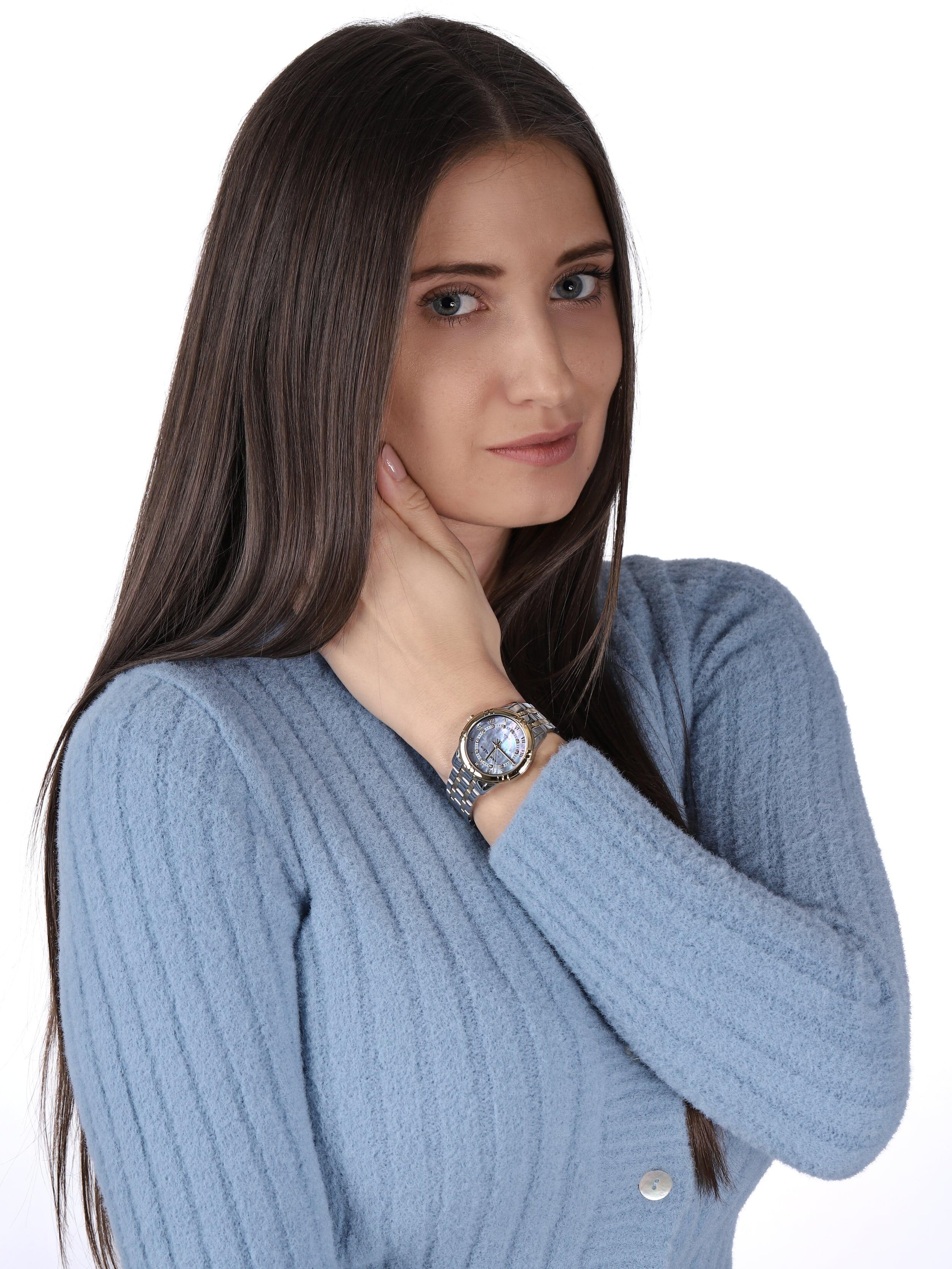 Anne Klein AK-3769MPTT zegarek klasyczny Bransoleta