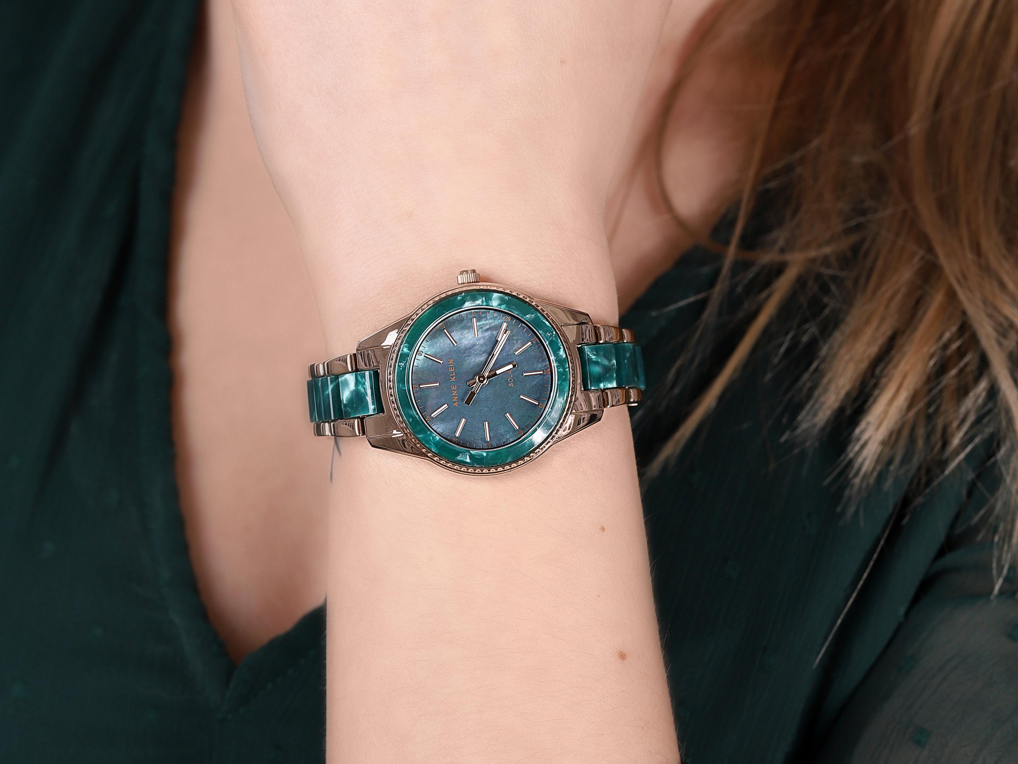 Anne Klein AK-3770GNRG zegarek klasyczny Bransoleta