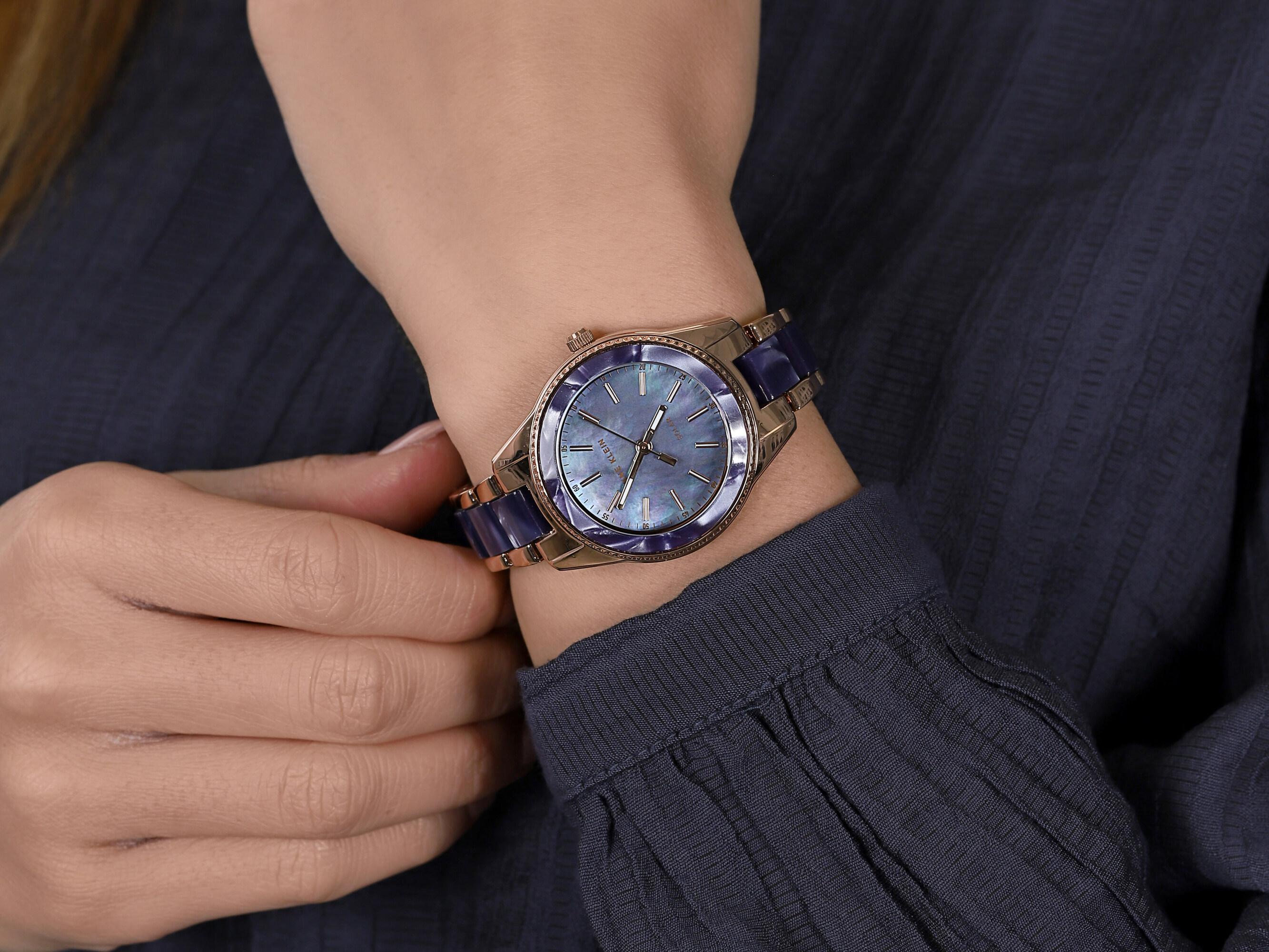 Anne Klein AK-3770NVRG zegarek klasyczny Bransoleta
