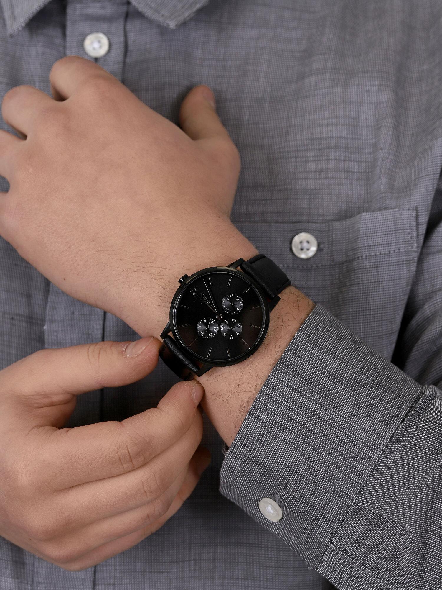 Armani Exchange AX2719 męski zegarek Fashion pasek
