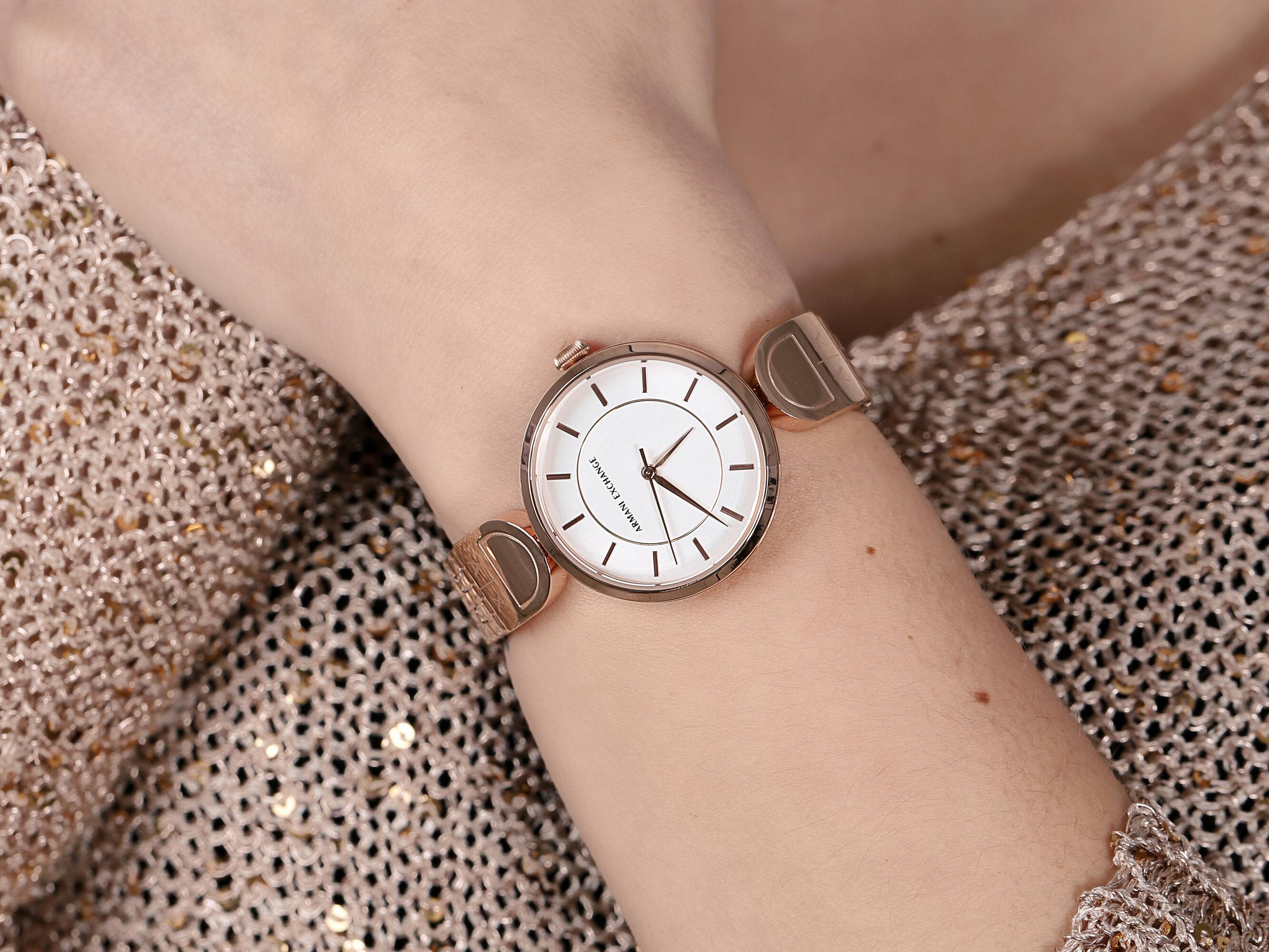 Armani Exchange AX5379 BROOKE zegarek klasyczny Fashion