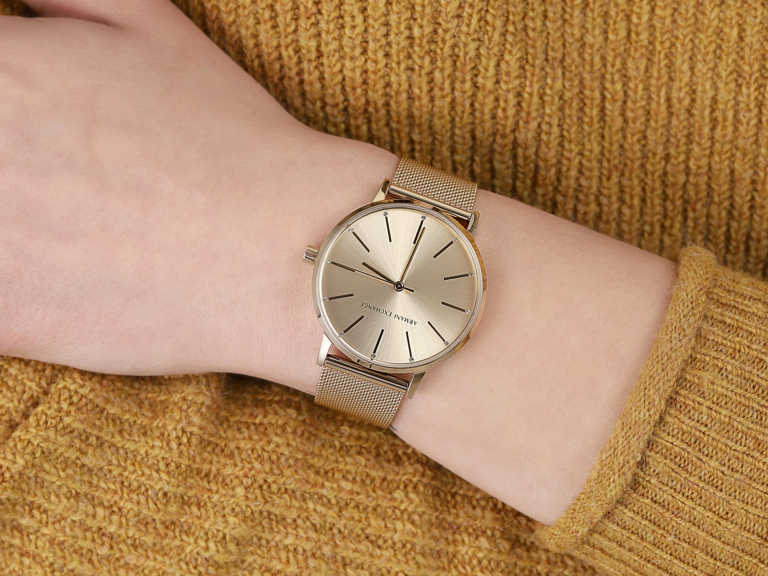 Armani Exchange AX5536 damski zegarek Fashion bransoleta